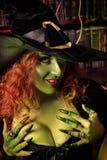 Witchery tovenaar Stock Fotografie