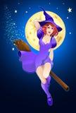 Witchery van Halloween Royalty-vrije Stock Foto