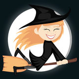 Witches all around Royalty Free Stock Images