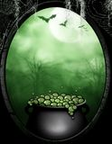 The Witches Bubbling Cauldron Royalty Free Stock Images