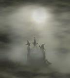 Witches cauldron Stock Photo