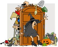 Witches closet Stock Photography