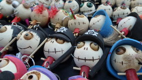 Witches dolls Stock Images