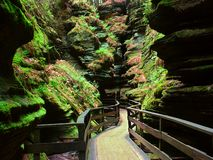 Witches Gulch in Wisconsin Dells Royalty Free Stock Image