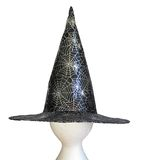 Witches hat. For Halloween with a web Stock Image