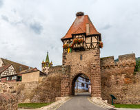 Witches Tower in Chatenois, Alsace, France Stock Photography