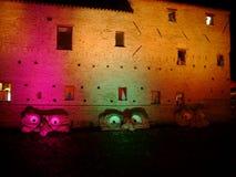 Witches& x27; Nacht in San- Giovannimarignano Lizenzfreie Stockfotos