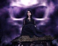 Witching час Стоковые Изображения
