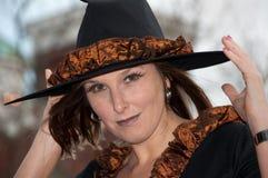 witchy häxa Arkivfoto
