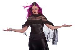 witchy kobieta Zdjęcia Royalty Free