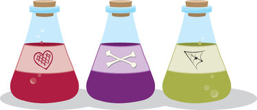 Witchy Potions Stock Photos
