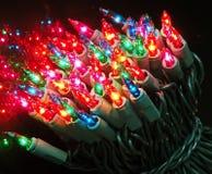 świąteczne lampki tree Obrazy Stock
