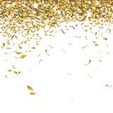 Świąteczni confetti Zdjęcie Royalty Free