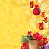 Świąteczny bokeh background-14 Zdjęcia Stock