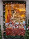 Świąteczny okno Zdjęcia Royalty Free