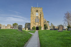 Świętego Mary kościół, Goudhurst, Kent, UK Obrazy Stock