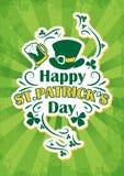 Świętego Patrick dnia tło Obraz Stock