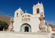 Świętego Santa Ana De Maca kościół, Peru Obraz Stock