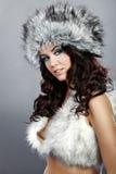 Witer fashion girl Royalty Free Stock Photo