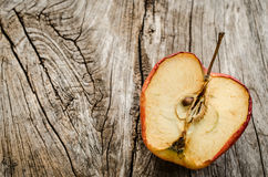 A wither apple Royalty Free Stock Image