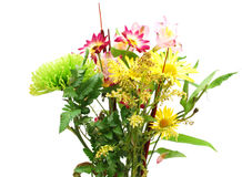 A withered flower bouquet. A withered floral bouquet on decoration Stock Images