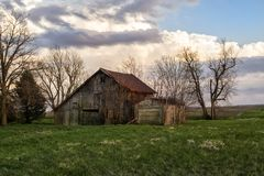 Withering barn Stock Images