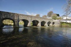 Withypool Bridge. Over the River Barle, Exmoor Stock Photo