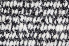 Witka i czerń kostrzewiasty dywan fotografia stock