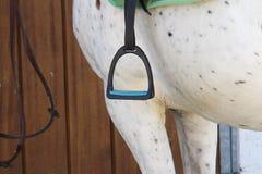 Witka konia comberu pocięgiel który przygotowywa wspinającym się Zdjęcia Stock