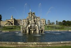 Witley Court. Country House Worcestershire Midlands England Stock Photo