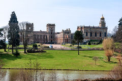 WITLEY COURT, GREAT WITLEY/WORCESTERSHIRE - APRIL 10 : Witley Co Royalty Free Stock Photos