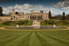 Witley Court in Worcestershire. Where the famous Perseus and Andromeda fountain is located Royalty Free Stock Image