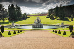 Witley Court in Worcestershire. Where the famous Perseus and Andromeda fountain is located Stock Photo