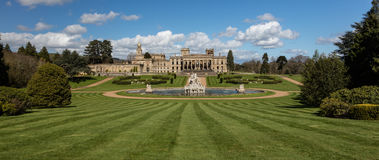 Witley Court in Worcestershire. Where the famous Perseus and Andromeda fountain is located Royalty Free Stock Images