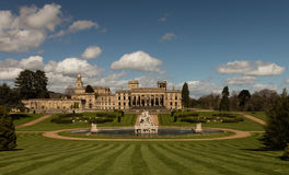 Witley Court in Worcestershire. Where the famous Perseus and Andromeda fountain is located Stock Photography