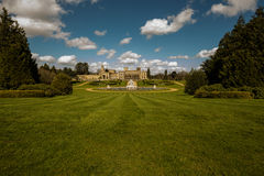 Witley Court in Worcestershire. Where the famous Perseus and Andromeda fountain is located Stock Photos