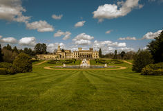 Witley Court in Worcestershire. Where the famous Perseus and Andromeda fountain is located Stock Images