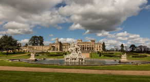 Witley Court in Worcestershire. Where the famous Perseus and Andromeda fountain is located Stock Image