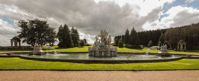 Witley Court in Worcestershire Stock Photo