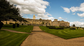Witley Court in Worcestershire. Where the famous Perseus and Andromeda fountain is located Royalty Free Stock Photography