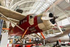 Witn för tappningvinterflygplanet skidar Royaltyfria Foton