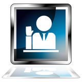 Witness Icon Stock Image