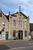WITNEY, OXFORDSHIRE/UK - 23. MÄRZ: Witney-Decke Hall bei Witne Lizenzfreies Stockfoto