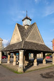 WITNEY, OXFORDSHIRE/UK - 23 MAART: Buttercross in Sq Markt Royalty-vrije Stock Foto's