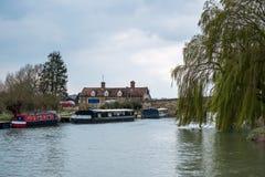 WITNEY, OXFORDSHIRE/UK - MARZEC 23: Maybush Eco austerii Jawny dom Obraz Royalty Free