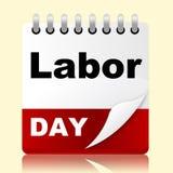 Święto Pracy Pokazuje Wakacyjnego amerykanina I patriotyzm Zdjęcia Stock