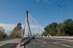 Świętokrzyski Bridge in Warsaw  - Poland Stock Images