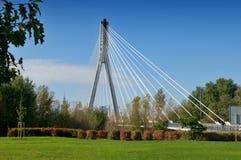 Świętokrzyski Bridge in Warsaw  - Poland Royalty Free Stock Images