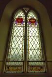 Witraż w kościół Zdjęcie Stock