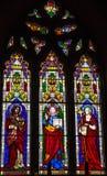 Witraż w kościół Fotografia Royalty Free